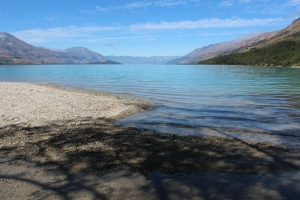 Lake Wakatipu, view from Kinloch