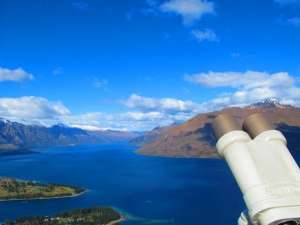 Lake Wakatipu, view from Skyline Gondola