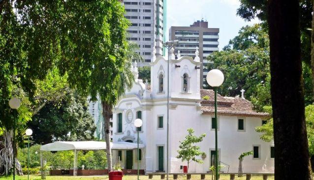 Capela de Nossa Senhora da Conceição / Jaqueira Chapel (Recife)