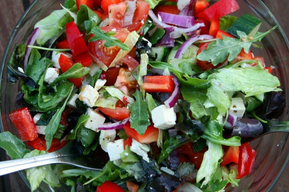 The summer salad