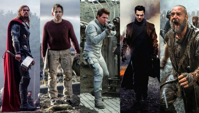 What do Ben Stiller, Tom Cruise, Russel Crowe, Benedict Cumberbatch and Chris Hemsworth have in common?