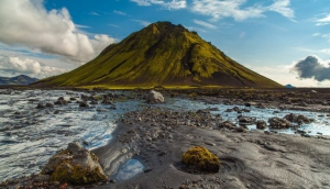 Mælifell in the Southern Highlands of Iceland - Methuselah's (Anthony Hopkins') home