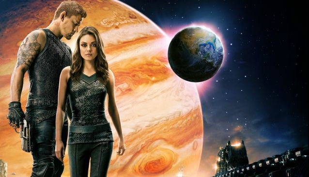 JUPITER ASCENDING (2015) With Mila Kunis, Channing Tatum and Sean Bean