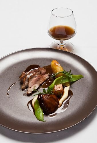 Delicious icelandic lamb and whiskey at the Food and Fun festival