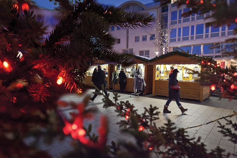 Downtown Reykjavik Christmas village