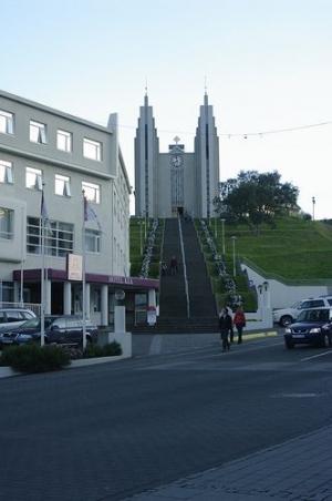 Akureyri Church (Akureyrarkirkja) - Lutheran church in Akureyri Iceland