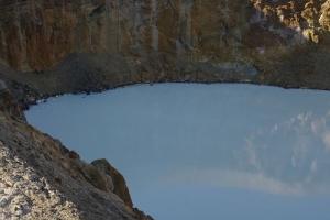 Clear waters of Askja