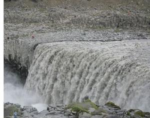 Powerful water at Dettifoss