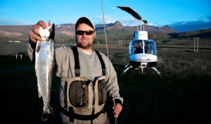 Yes. You can take your helicopter fishing