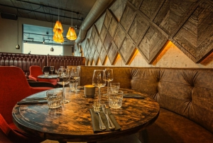 Hip and Cool table for 4 in Kol Restaurant