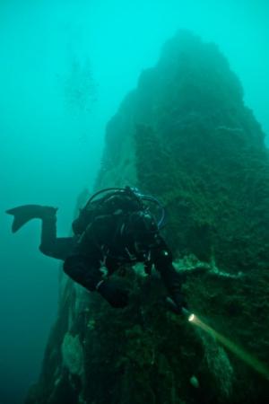 Diving at Strytan