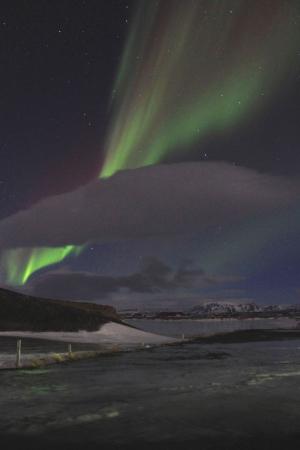 Impressive Northern Lights by Mývatn