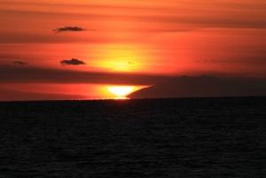Stunning Icelandic sunset