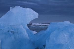 Glacier sculpture