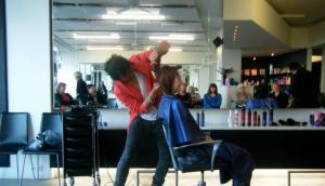 Solid hair salon