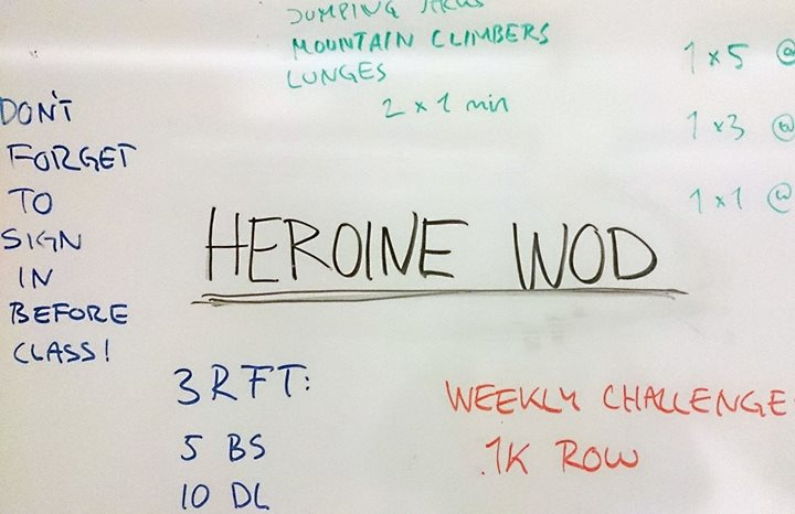 Heroine Wod- Exhibition