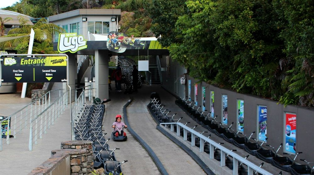The Luge Ride