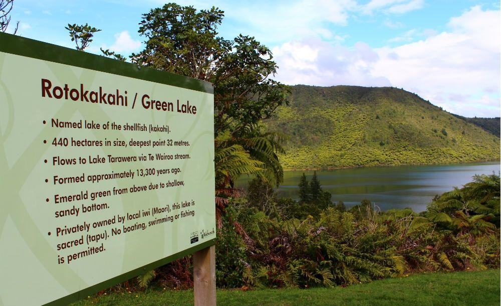 The Green Lake, Rotorua