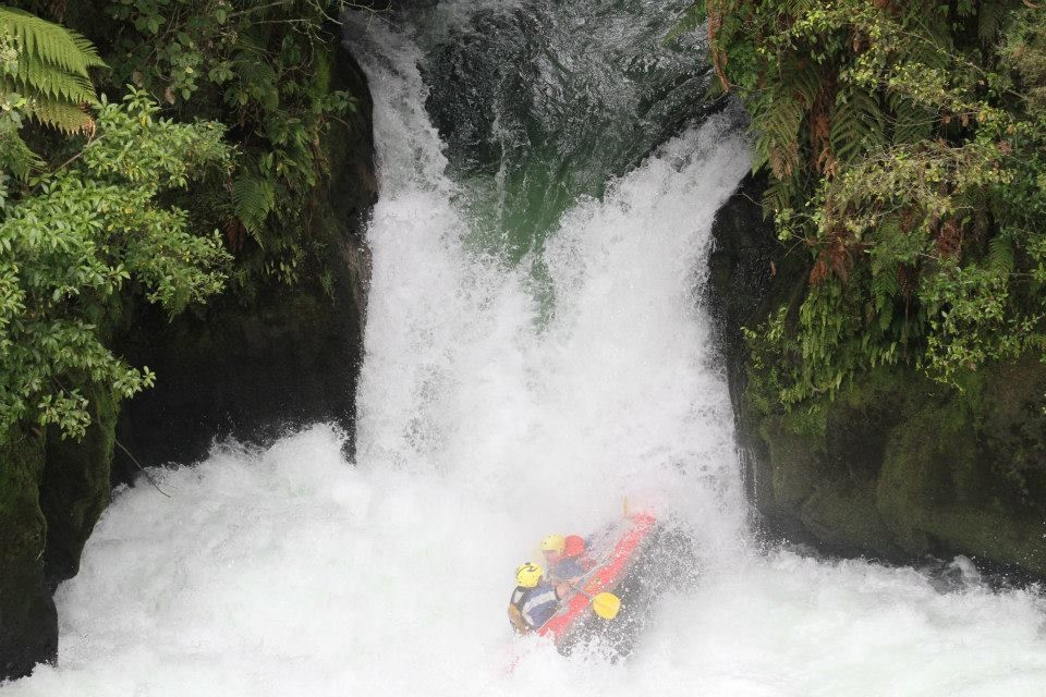 River Rats over Tutea Falls