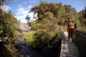 Hot Water Stream Bridge