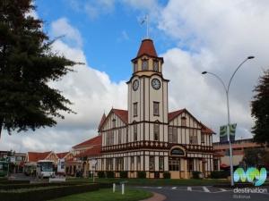 Clock Tower & i-SITE Building, Rotorua