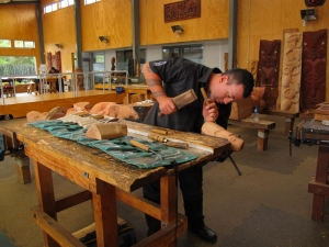 National Carving School, Te Puia