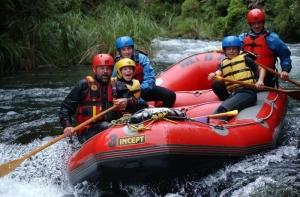 Wet `n` Wild Rafting, Rotorua