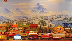 Millennium Seoul Hilton Christmas Tree & Christmas Train