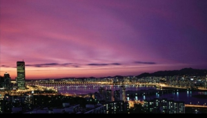 Seoul Night Views from an Evening Bus Tour