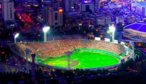 Join us on a tour of eight different baseball stadiums - from Seoul to Busan