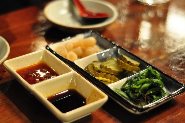Snacks with Soju (Graham Hills, Flickr)