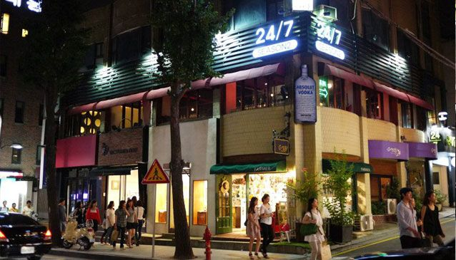Garosu-gil Street
