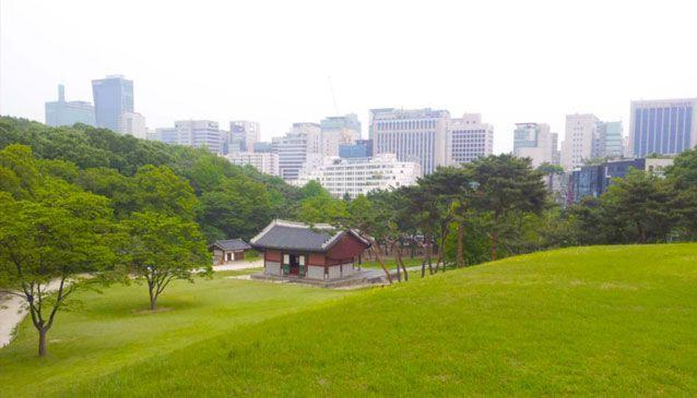View from Samneung Park, Samseongdong