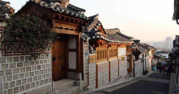 Bukchon Village in Samcheongdong