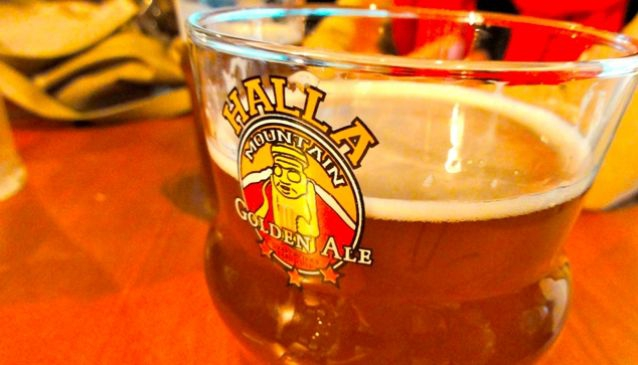 #2: Halla Golden Ale at Craftworks