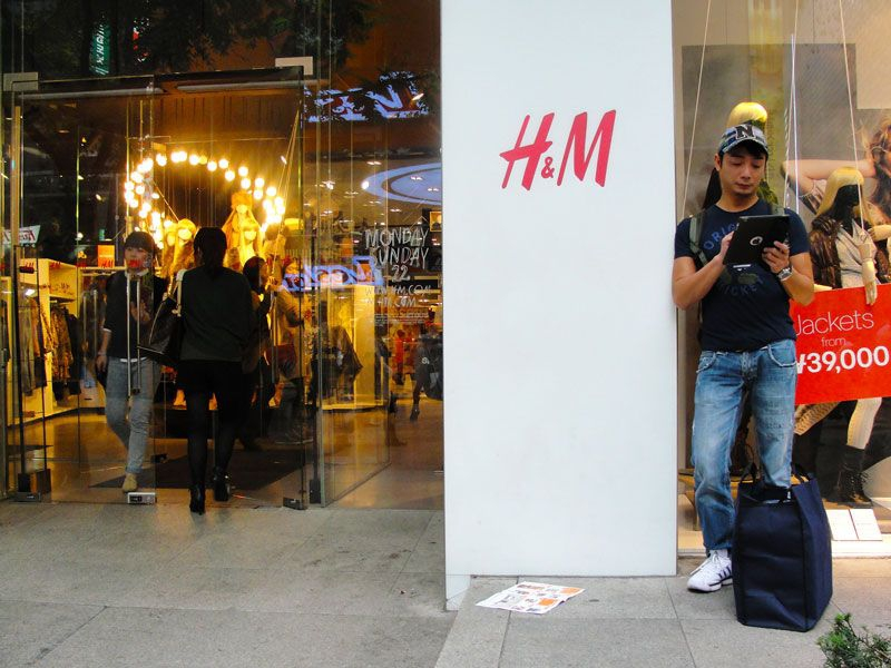 H&M Main Store in Myeongdong