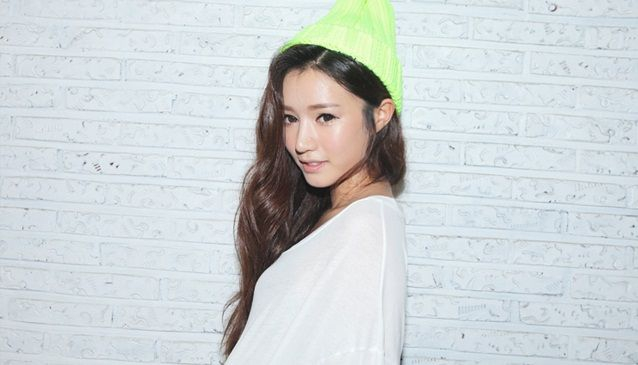Bright Green Headwear; NANDAGIRL