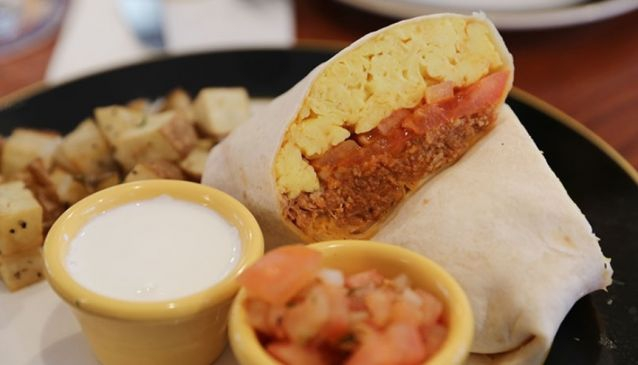The Breakfast Burrito - Craftworks