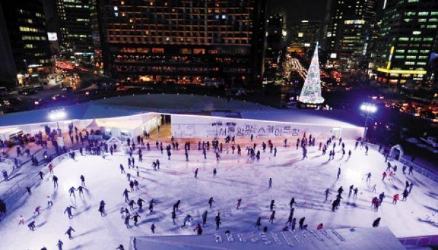 Winter fun in Seoul