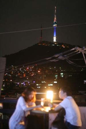 Amazing view of Seoul N Tower!
