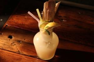 Mojito with real sugar cane