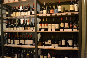 Wines! This is just one side of the cellar