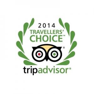Travellers' Choice Winner 2014