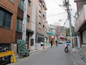 Alley where Boa Guesthouse is on