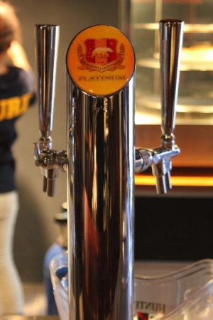 Platinum on tap at Bonny's Cave downstairs