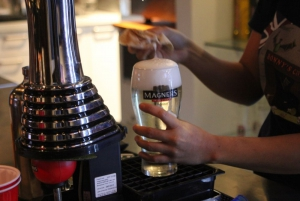 Magners on tap at Bonny's Cave downstairs