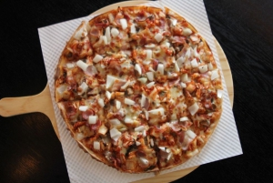The Kimchi Pizza!