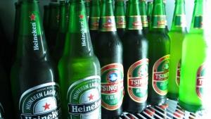 Large Heineken and Tsingtao only 5,000KRW