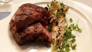 one of the many steak dishes