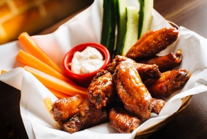 Wings! Every wednesday for only 4,000KRW!